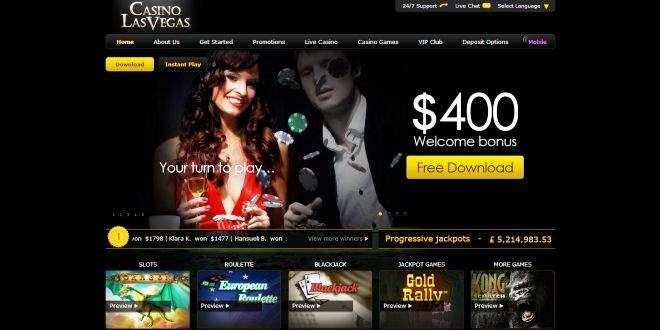 Casino Las Vegas $800 Bonus T&C