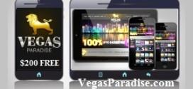 Vegas Paradise Casino $/£/€ 200 Bonus t&c