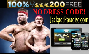 JackpotParadise Casino $£€200 Welcome Bonus t&c