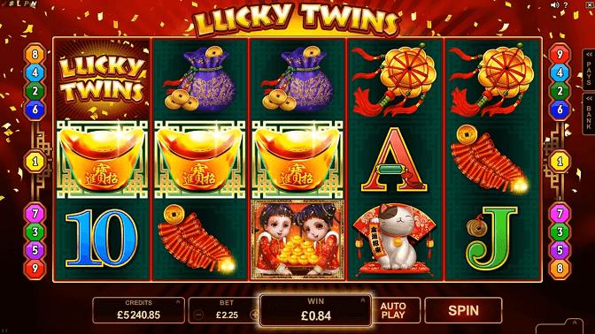 lucky twins screenshot
