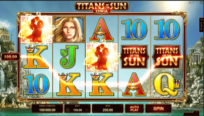titans of the sun theia slot screenshot