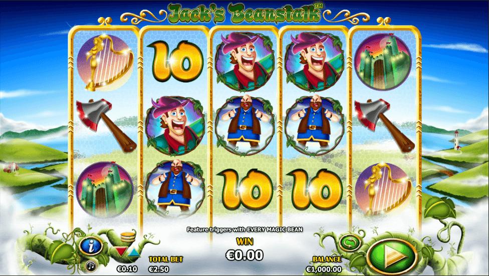 Jacks Beanstalk Slot screenshot