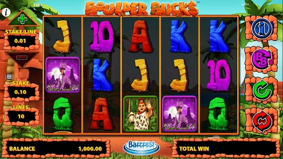 Boulder Bucks Slot screenshot big