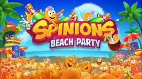 Spinions Beach Party logo