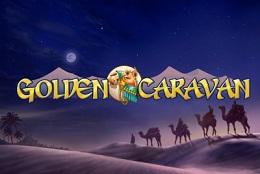 golden caravan slot logo