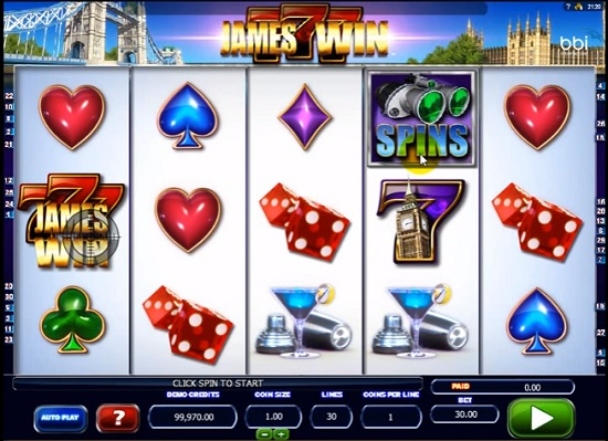 james win slot screenshot big