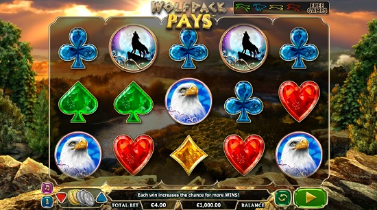 wolf pays slot screenshot big
