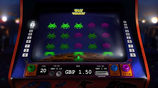 Space Invaders Slots - Play Online or on Mobile Now